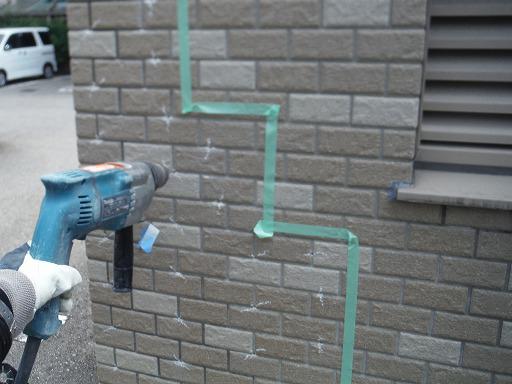 タイル下地浮き部分エポキシ樹脂注入工法