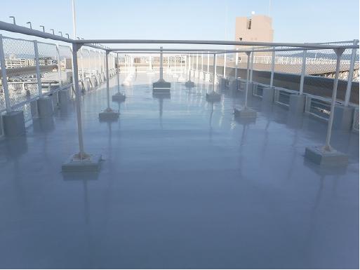 塩ビ防水シート工事